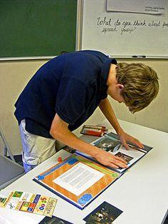 Teacher portfolio  http://randomcreative.hubpages.com/hub/Tips-for-Creating-and-Organizing-a-Teaching-Portfolio