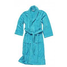 Salbakos Super Heavy 550 gsm Blanket Feel Shawl Collar Terry Robe