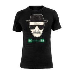 Breaking Bad - Camiseta Heisenberg - Walter White - Negro #camiseta #friki #moda #regalo