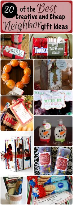 Wondering what to buy the neighbors this year that's cute, creative and won't bust your budget? I got you covered!