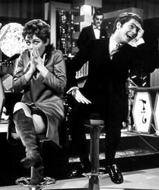 Ronnie Tober en Conny vandenbos 1967