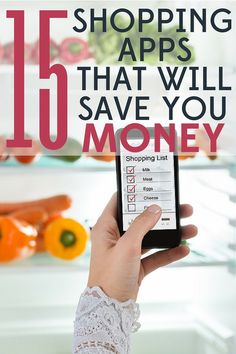Put away your scissors! Theres no need to clip coupons anymore. These 15 shopping apps will save you both money and time. Save Your Money, Ways To Save Money, Money Tips, Money Saving Tips, How To Make Money, Time Saving, Frugal Living Tips, Frugal Tips, Setting Up A Budget