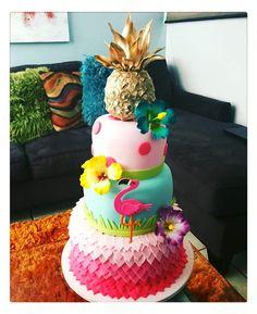 Pineapple, Flamingo, Tropical Flower