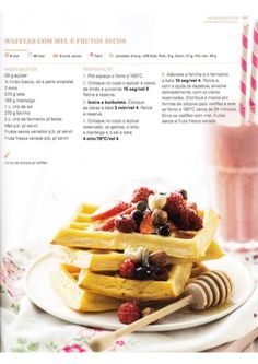 150 receitas Bimby (melhores de 2014) Breakfast And Brunch, Cooking Time, Cooking Recipes, Healthy Recipes, Sports Food, Good Food, Yummy Food, Pancakes And Waffles, I Want To Eat