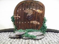 Fairy Door Real Fairies, Fairy Doors, Invitations, Wreaths, Home Decor, Decoration Home, Door Wreaths, Room Decor, Save The Date Invitations