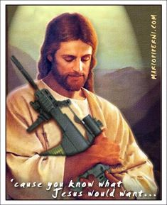 The Gospel of Jesus Christ, annotated by the NRA Ex Mormon, Bible Belt, Jesus Photo, Who Is Jesus, Reality Check, Founding Fathers, End Of The World, Jesus Quotes, Atheist