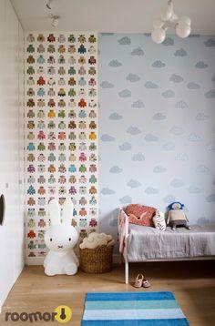 roomor! wallpaper, kid's bedroom