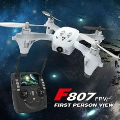 HT F807-FPV RC Quadcopter 0.3MP Camera  FPV Real Time Image