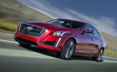this image captures the spearing headlamp theme newer Cadillacs have  2014 Cadillac CTS Vsport Sedan