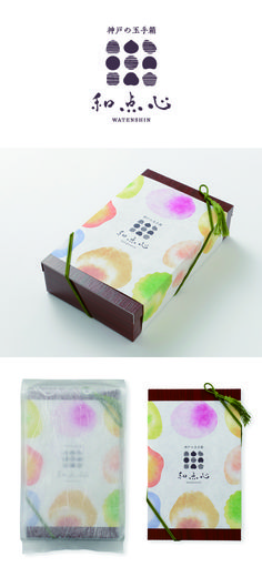 Watenshin / logo / package / FROM GRAPHIC