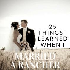 Truthful, sometimes funny, collection of realizations from a ranchers wife