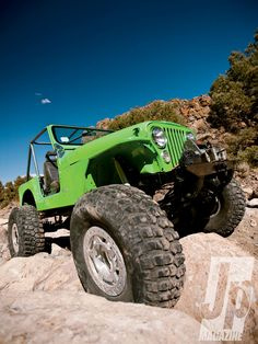 1974 jeep cj5 4x4 rock crawling