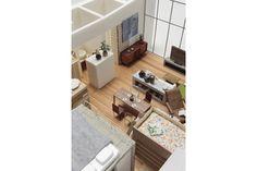 Osamu Nishida, Erika Nakagawa, Yokohama Apartments Yokohama, Erika, Apartments, Presentation, Loft, Models, Architecture, Projects, Furniture