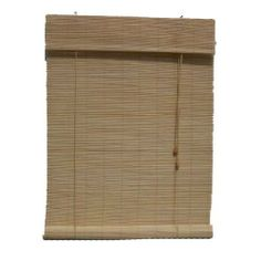 """Lewis Hyman 0108114 Natural Imperial Matchstick Bamboo Roll-Up w/6"""" Valance. 72"""" W x 72"""" L by Lewis Hyman. $50.97. Made of hand selected bamboo.  Each shade measures 1/2"""" less in width to allow for inside mount installation.. Easily installed in minutes with all necessary hardware included.. Each shade measures 1/2 inch less in width to allow for inside mount installation. Light filtering provides privacy and energy-efficient insulation qualities.. 6"""" built-in..."""