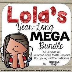 Students and teachers alike LOVE Lola. These units of daily guided practice PowerPoint lessons will help your young students understand and enjoy Common Core math. Not kidding! Students love the engaging character and familiar scenarios, while teachers lo