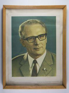 "DDR Museum – Museum: Objektdatenbank – ""Erich Honecker"" Copyright: DDR Museum, B… Ddr Museum, Museum Berlin, Anti Communism, East Germany, Berlin Wall, Cold War, The Past, Novels, Childhood"