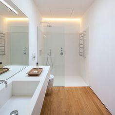 6 Convenient Cool Tips: Simple Bathroom Remodel Built Ins tiny bathroom remodel medicine cabinets.Simple Bathroom Remodel Built Ins. Narrow Bathroom, Wood Bathroom, Bathroom Layout, Simple Bathroom, Bathroom Interior, Modern Bathroom, Master Bathroom, Bathroom Lighting, Bathroom Ideas