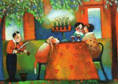 .Raija Nokkala Pastel Art, Funny Art, Cute Pictures, Candlelight Dinner, Gnomes, Painting, Candle Lit Dinner, Painting Art, Paintings