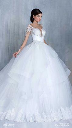 Tony Chaaya Haute Couture 2016 Wedding Dress