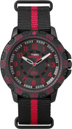 03c23b47c Red Stripes, Gents Watches, Watches For Men, Rugged Men, Black Nylons,