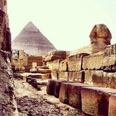The Sphynx and Pyramid, Egypt