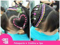 Sala Junior, Children Hair, Hair Styles, Beauty, Fashion, Cute Kids Hairstyles, Girls Braids, Warm Color Palettes, Braided Updo