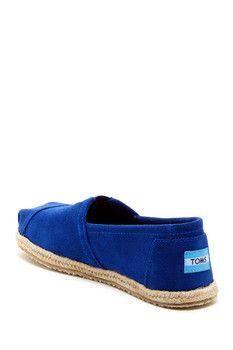 TOMS Suede Espadrille Slip-On Shoe
