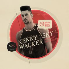 "tRS-WS #47 - Back In the NBA #1: Kenny ""Sky"" Walker - March 2012"