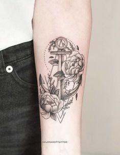 Anchor Tattoo by Valera Kot