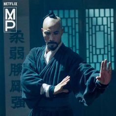 Taoist monk Hundred Eyes from Netflix' Marco Polo