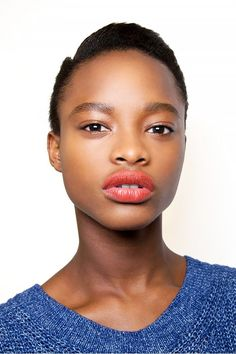 For your skin tone, lip colors in warm shades will look best. So go for those really red and orangey colors. Keep scrolling for some red-hot lipsticks that are flattering on warm undertones!