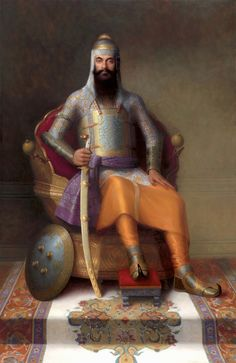 Maharajah Ranjit Singh, The Lion of the Punjab (13 November 1780 – 27 June 1839), was the founder of the Sikh Empire, which came to power in the Indian subcontinent in the early half of the 19th century. The empire, based in the Punjab region, existed from 1799 to 1849.