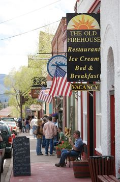 The Old Firehouse Restaurant, Creede, Colorado ~ (Moved to South Fork in 2014)
