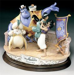 Laurenz Disney Collection Alladin Group Hug Enzo Arzenton Released 1993 - New Disney Love, Disney Magic, Disney Art, Walt Disney, Disney Stuff, Disney Dream, Disney Films, Disney Cartoons, Disney Wishes