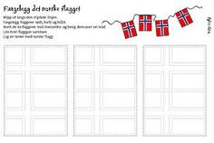Naturfagserie for barn May National Days, Diy And Crafts, Crafts For Kids, Constitution Day, My Job, Red And White, Flag, Bullet Journal, Teacher