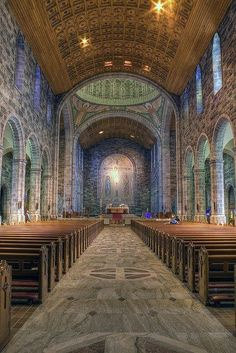 *This is one of the most beautiful cathedrals I've been in. -Anna Galway Cathedral, Ireland