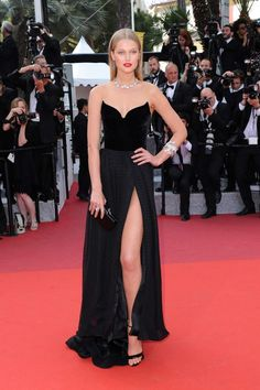 Toni Garrn in Ulyana Sergeenko Couture - 'Loving' Premiere at 69th Cannes Film Festival