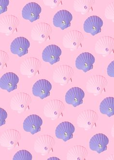 Mermaid Pattern // Violet Tinder Studios