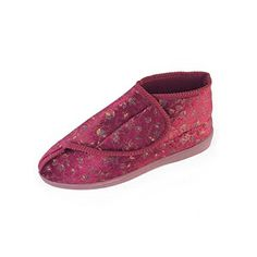 a08f40f8e3f A simple bootee slipper for superb warmth and support right up around the  ankle. Soft and warm