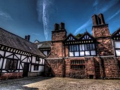The Model for the Old Lodge. Speke Hall