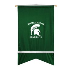 Michigan State Spartans Sidelines Ribbon Style Wall Flag
