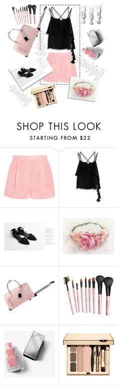 """""""Untitled #99"""" by navya-naveli ❤ liked on Polyvore featuring STELLA McCARTNEY, Chicwish, Reneve and Burberry"""