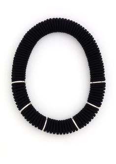 Spectra Six Necklace - Black Collection