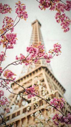 Wallpaper iPhone/Paris/spring ⚪