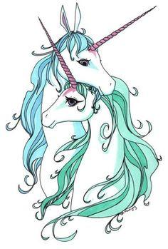 """they remind me of """"the last unicorn"""" unicorns Unicorn Drawing, Cartoon Unicorn, Real Unicorn, The Last Unicorn, Unicorn Horse, Unicorn Art, Magical Unicorn, Rainbow Unicorn, Unicorn Fantasy"""