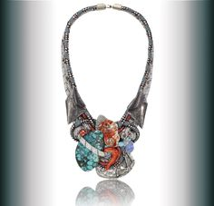 Wearable art necklace by Alex & Lee.