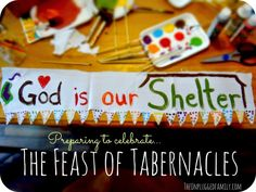 The Unplugged Family: Whispers for the Feast of Tabernacles (Sukkot). Celebrating Sukkot and the Feast of Tabernacles together...