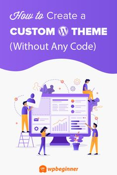 Want to create a custom WordPress theme from scratch without learning to code? Learn how to easily create a completely custom WordPress theme (drag & drop). Wordpress Org, Learn Wordpress, Wordpress Website Design, Wordpress Theme Design, Wordpress Template, Best Wordpress Themes, Wordpress Plugins, Ecommerce, Customize Wordpress Theme
