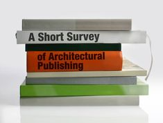 A Short Survey of Architectural Publishing