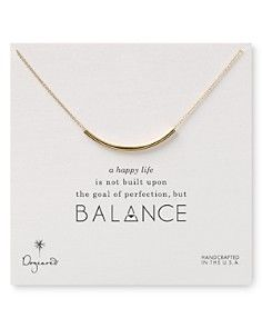 "Dogeared Balance Tube Necklaces, 18"""